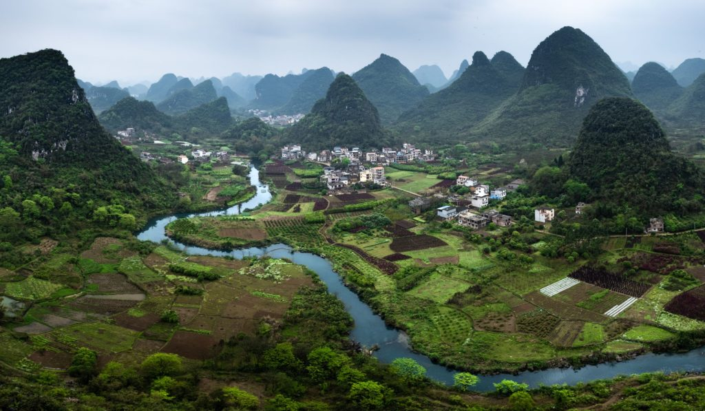 Cuiping Hill Chiny Yangshuo