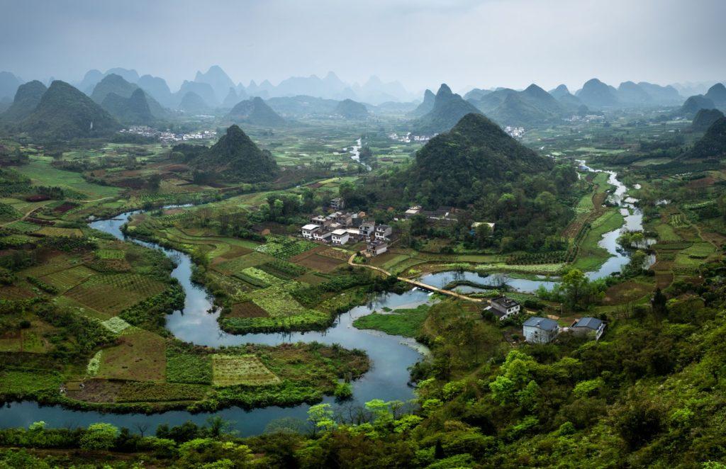 Cuiping Hill Chiny Yangshuo Xingping