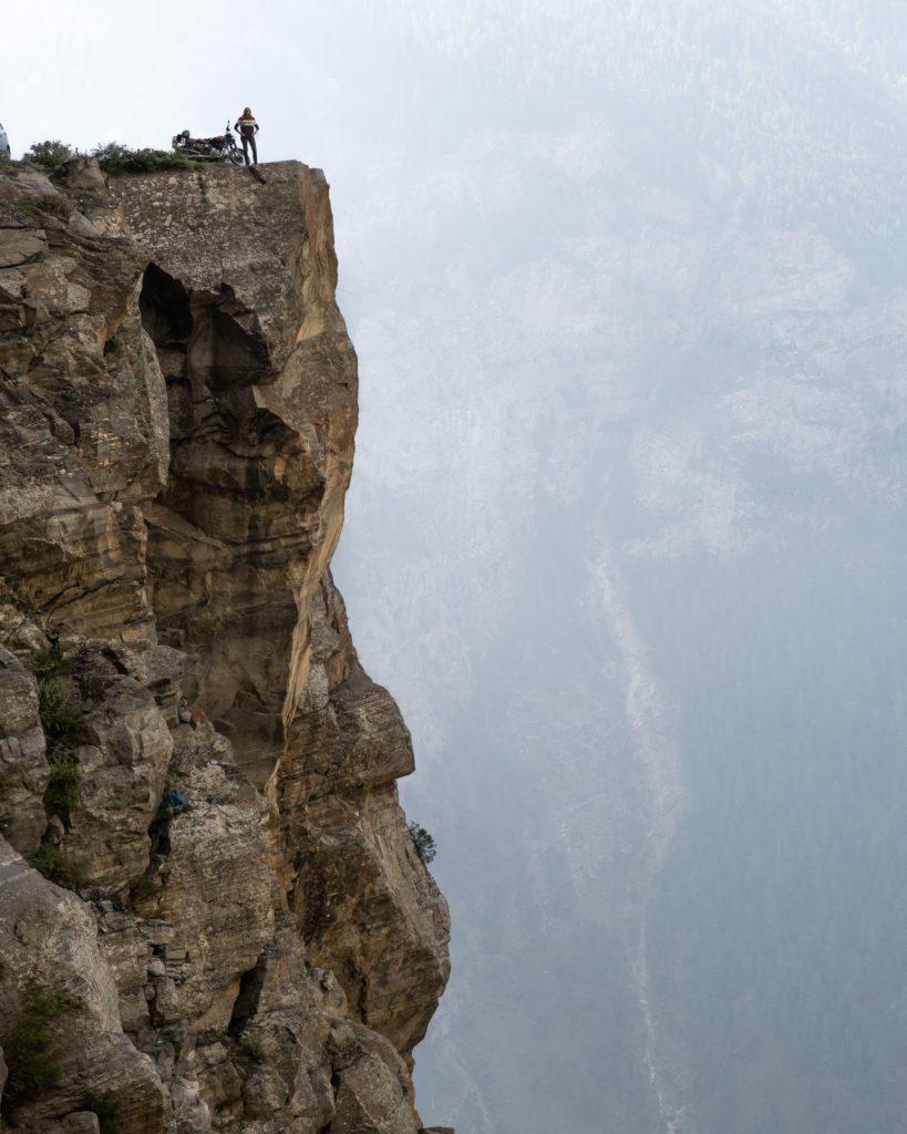 Suicide point, Kalpa, Spiti Valley, Mud, Pin Valley, Himachal Pradesh, India, Kaza, Chandra Tal, Rohtang pass, Manali